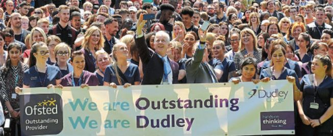 Dudley College of Technology staff photo